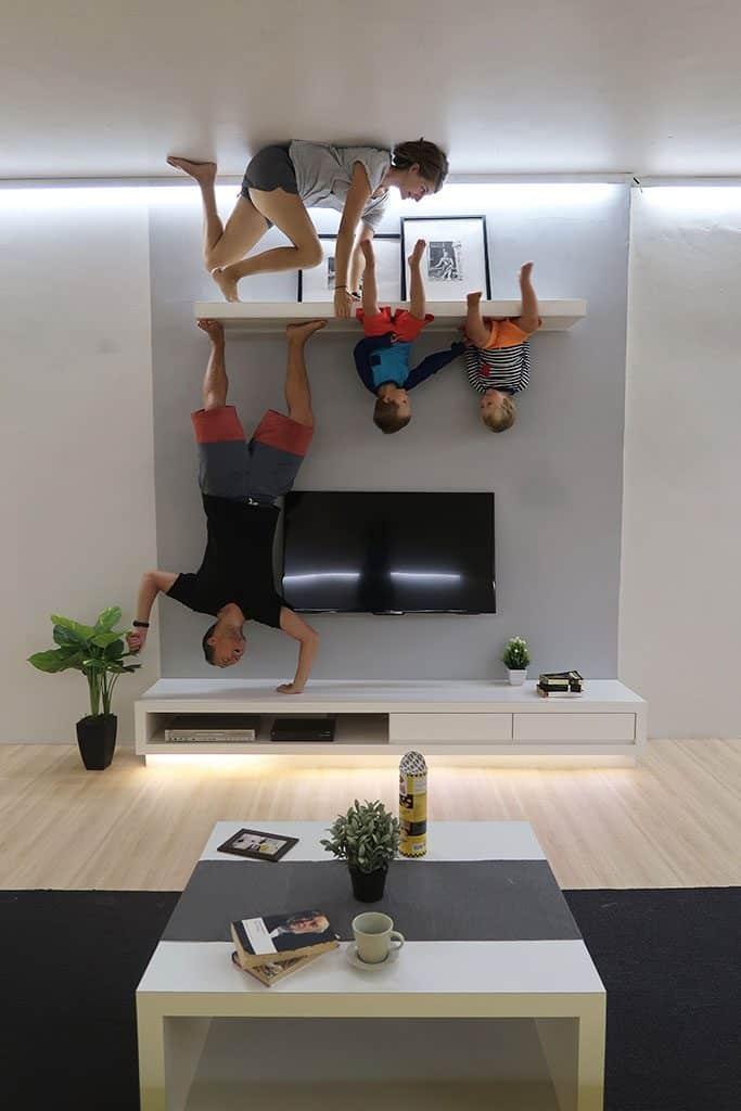 2 upsidedown 5